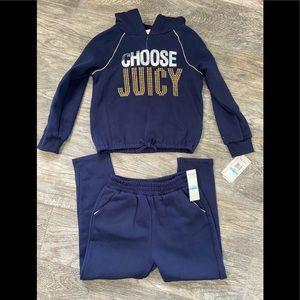 Juicy Couture kids 2 pc jogger set